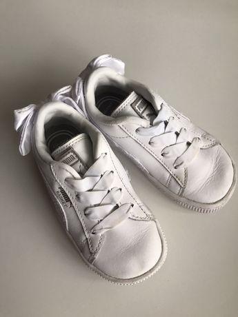 Кожанные кроссовки puma оригинал,размер 23,14,5см