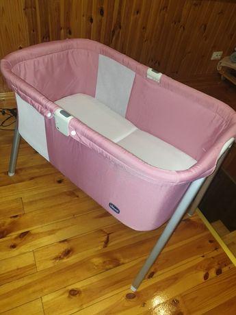 Кроватка chicco рожева