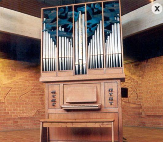 Organy kościelne piszczałkowe pozytyw organowy