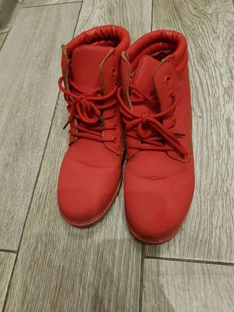 Traperki czerwone trapery 37
