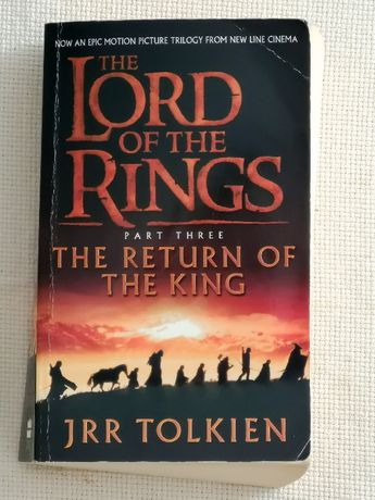 """""""The Lord Of The Rings - The Return Of The King"""" Tolkien"""