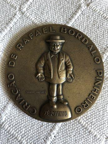 Zé Povinho medalhe bronze 179/400 Cabral Antunes