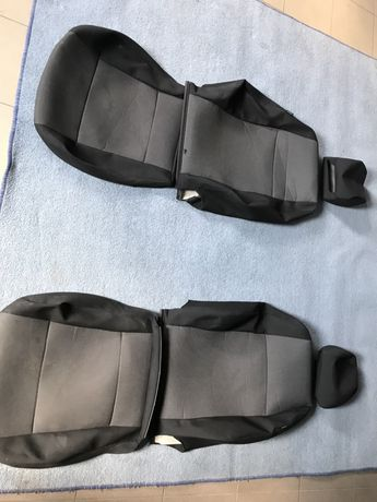 Оригінальні обшивки передніх сидінь vw caddy