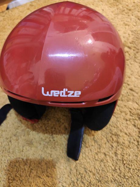 Kask dziecięcy, czerwony WED'ZE JR MRZ 400 RED 10