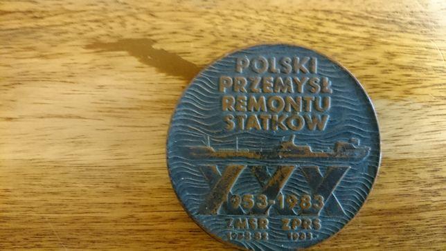 Medal okolicznościowy Polski Przemysł Remontu Statków XXX lat
