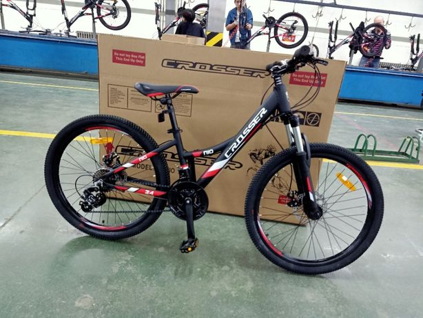 НОВЫЙ велосипед алюминий Кроссер Crosser Nio 26 Shimano Giant Author