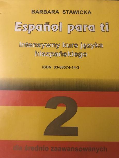 Hiszpanski - kurs Espanol para ti + slownik