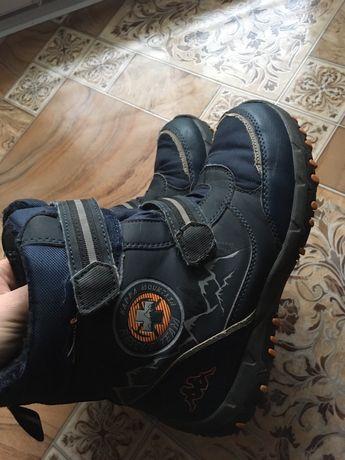 Зимние термо ботинки сапоги для мальчика 35 размер kappa
