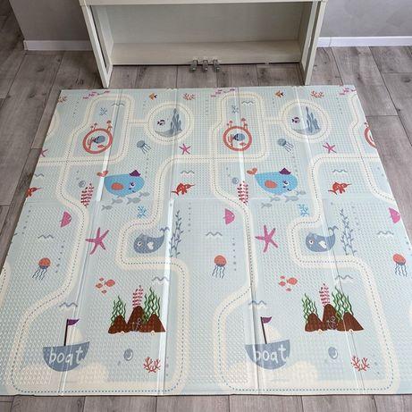 Cкладной мягкий коврик для детей 1800*2000*10 мм