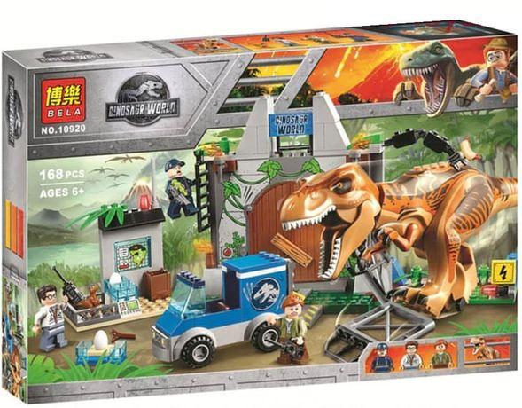 Конструктор Bela 10920 Jurassic World 168 деталей.
