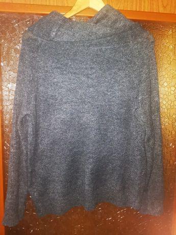 Sweter szary rozmiar 42