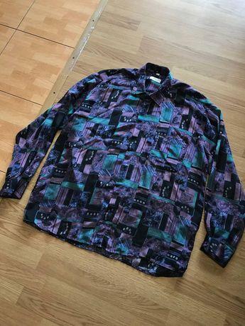 Christian Dior винтажная шелковая рубашка