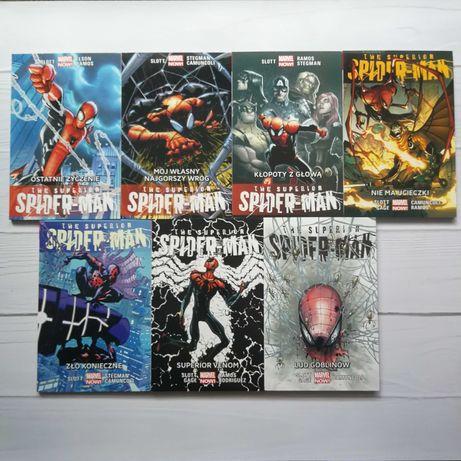 Komplet 11 tomów Spider Mana z Marvel Now 1.0