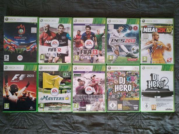 Спортивные игры для Xbox 360 лицензия