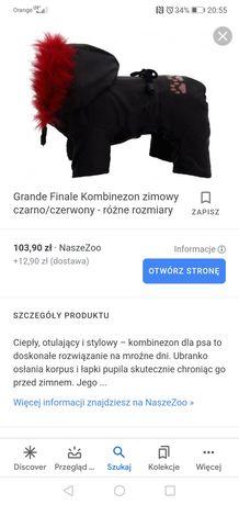 Ubranko kurtka dla psa Grande Finale