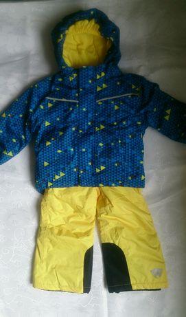 Komplet narciarski kurtka,spodnieLUPILU r.86/92
