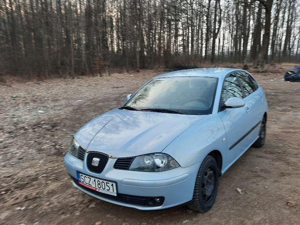 Seat Ibiza 1.4 75KM, 2003 rok, 5 drzwi