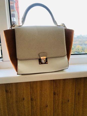 стильна сумка ZARA
