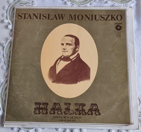 Halka opera w 4 aktach Moniuszko winyl z 1980 r.