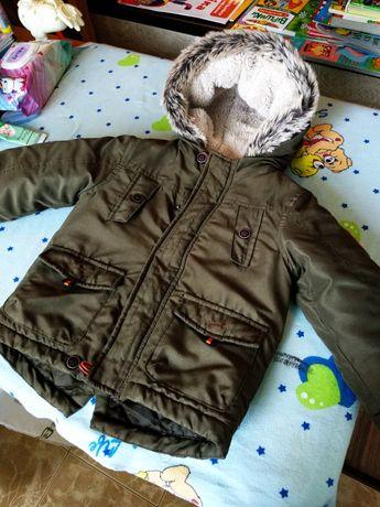 Детская парка, куртка