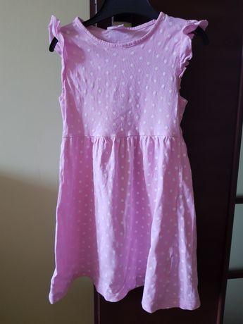Sukienka dla dziewczynki  bawełna rozmiar 116