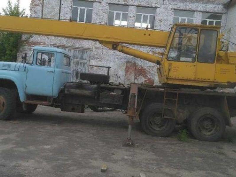 Автокран КС-3575 А Зіл-133ГЯ Бердичів - зображення 1