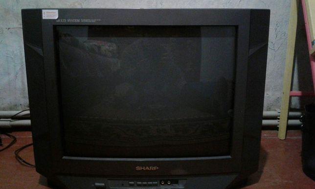 Цветной телевизор SHARP 51см. Оригинал .Малазийская сборка.