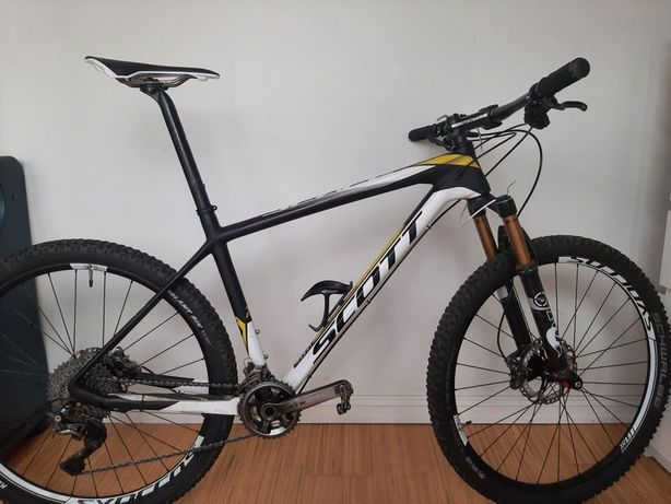 Scott Scale RC Premium 27.5 Carbon 2016 L Вес 8.7 кг XTR Fox Kashima