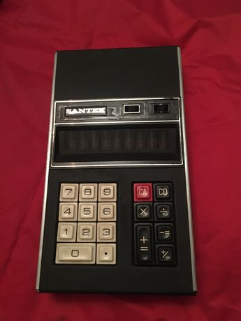 Calculadora antiga marca Santek
