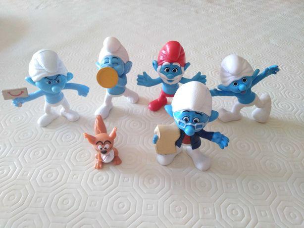 Figuras Smurfs - novos