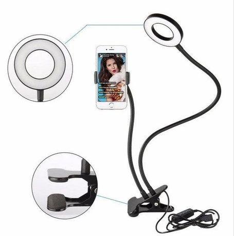 Набор Блогера 3 в 1: Штатив лед лампа для блогеров и селфи Bluetooth