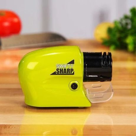 Электрическая точилка для ножей и ножниц Swifty Sharp 13*5*7 см !!!