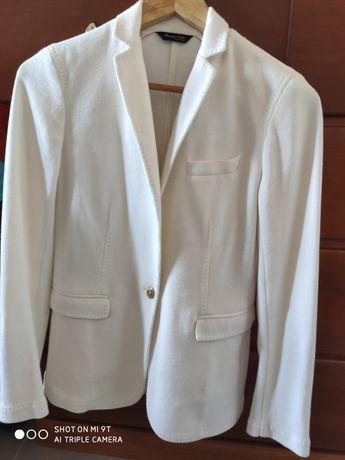 Blazer Branco da Massimo Dutti