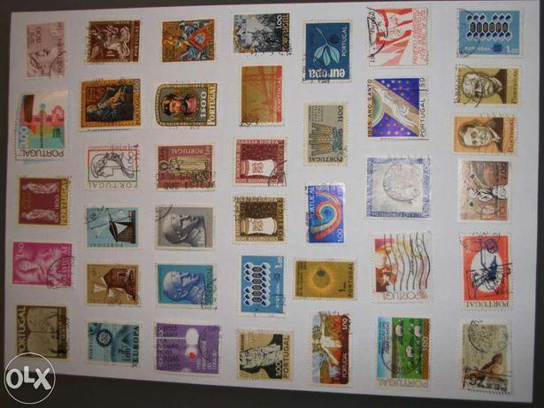 Selos de portugal lote 118 selos diferentes