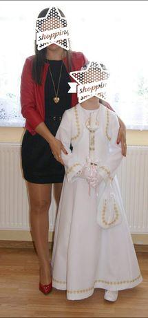Czarna krótka sukienka na wesele, komunię itp. Rozmiar 34/36