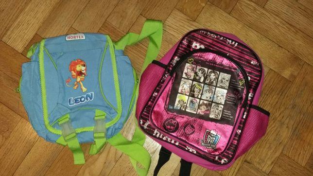 Plecaczek Monster High i torba Leon