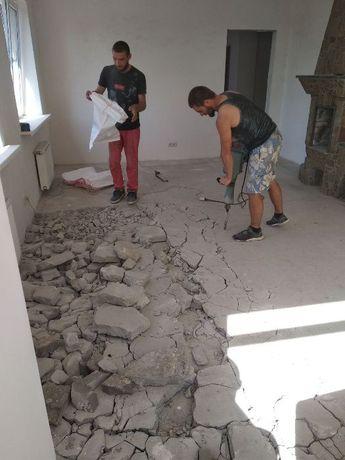 Демонтаж без посредников стен,полов,обоев,штукатурки,вывоз строймусора