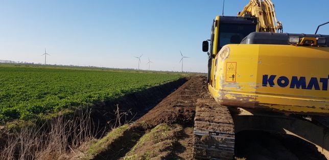 Usługi koparką gąsienicowa,kołową transport niskopodwoziem,prace ziemn