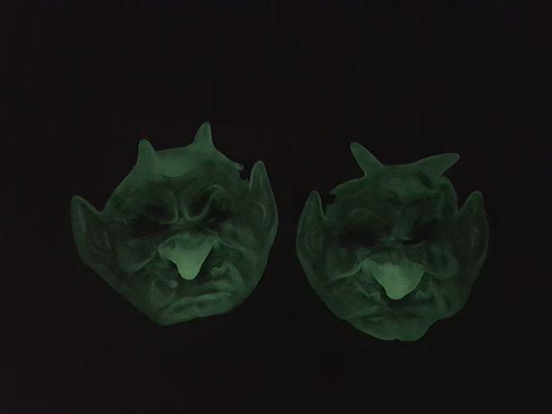 Светящиеся маски на хеллоуин/Halloween