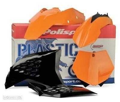 kit plasticos polisport ktm exc 450 / 250 12