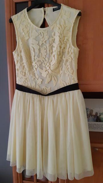Nowa Sukienka żółta r. 38