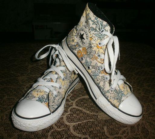 Кеды-хайтопы Converse для девочки 21 см
