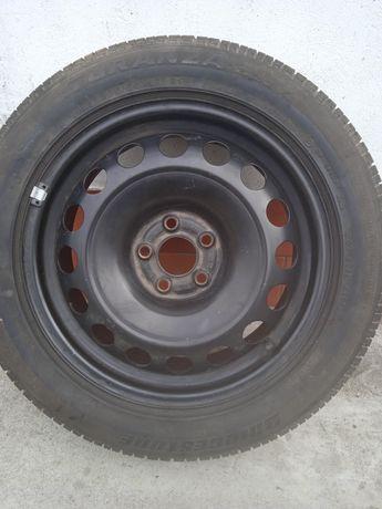 Opona z felgą stalową 205/55r16