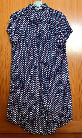 Tunica de senhora estilo blusa