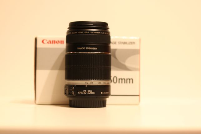 Canon 55-250 IS 4-5.6