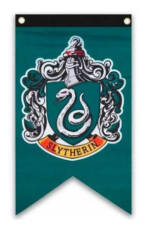 Flaga Slytherin Harry Potter 125 x 70 cm