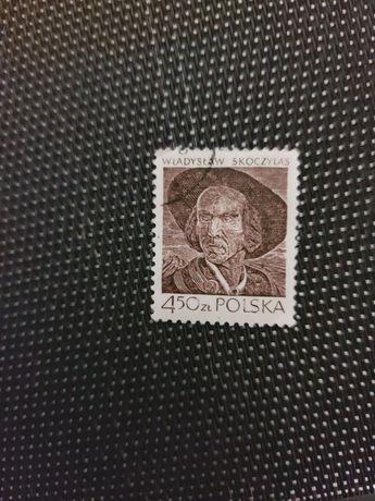 Znaczek pocztowy Władysław Skoczylas