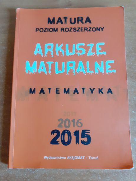 MATEMATYKA ARKUSZE MATURALNE Matura Poziom rozszerzony 2015