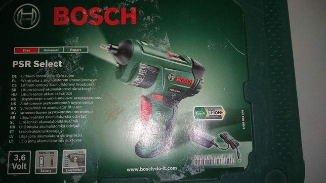 Wkrętarka PSR Select Bosch