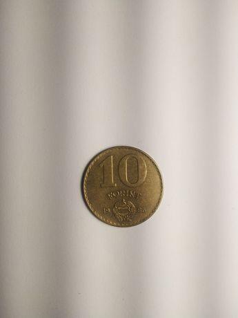 Moneta 10 forintów 1986 r. WĘGRY.